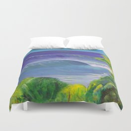 deep_water art Duvet Cover