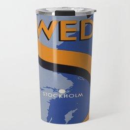 Vintage poster - Sweden Travel Mug