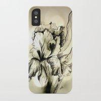 iris iPhone & iPod Cases featuring Iris by Suzanne Kurilla