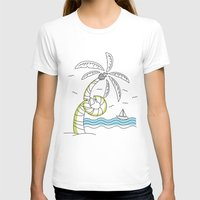 coachella T-shirts featuring Palm Tree by Tuylek