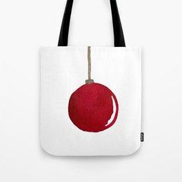 Red Ornament Tote Bag