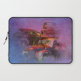 cars lost in the mist of time Laptop Sleeve