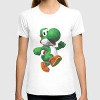 yoshi T-shirts featuring Yoshi Geometric by Sharna Myers