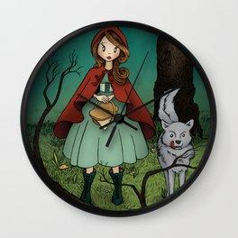 Little Red Riding Hood Wall Clock
