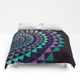 Spiral Yantra Comforters