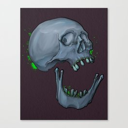 Broken Jaw Canvas Print