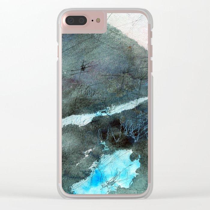 Continental Drift Clear iPhone Case