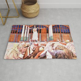 Joseph Makes Himself Known to His Brethren - Digital Remastered Edition Rug