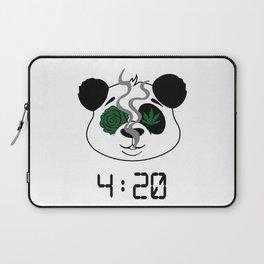 4:20 Panda (4/20 Edition) Laptop Sleeve