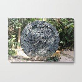 Yucatan Maya Decorations Metal Print