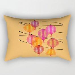 Chinese night Rectangular Pillow