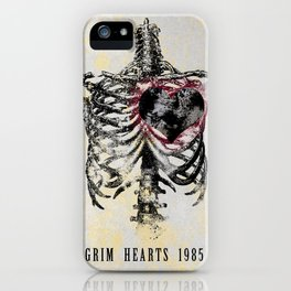 Grim Hearts 1985 iPhone Case