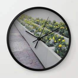 FlowerBox Wall Clock