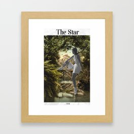 The Star Framed Art Print