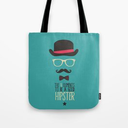Elements to be a good hipster Tote Bag