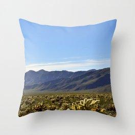 Cholla Gardens Throw Pillow