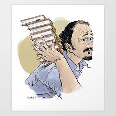 Jeffrey Eugenides (novelist) Art Print