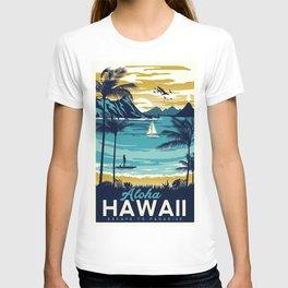 Vintage poster - Hawaii T-shirt