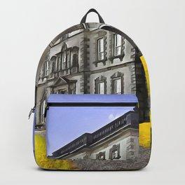 Florence Court, Enniskillen, Ireland. (Painting) Backpack