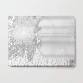 She Winter Metal Print