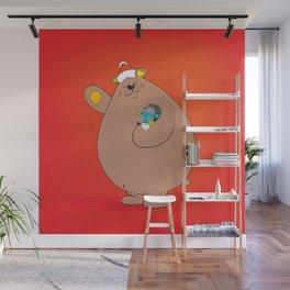 We wish you a Merry Christmas II Wall Mural