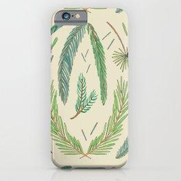 Pine Bough Study iPhone Case