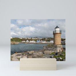 Portpatrick in Dumfries in Scotland Mini Art Print