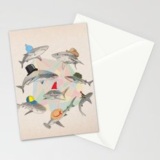 Hats On Stationery Cards