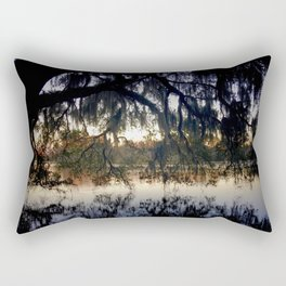 Sunset Lake Rectangular Pillow