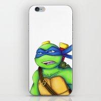 leonardo iPhone & iPod Skins featuring Leonardo by Savanity