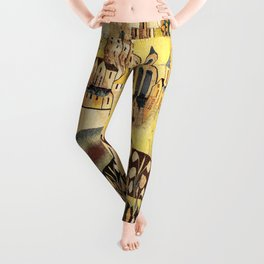 Limousin 16th Century French Tapestry Print Leggings