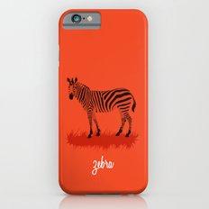 4-Legged Exotica Series: Zebra Slim Case iPhone 6s