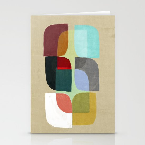 Color Overlay Stationery Cards
