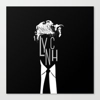 lynch Canvas Prints featuring Lynch by Kevin Manley Graphics
