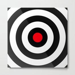 Target (Point Shooting) Metal Print