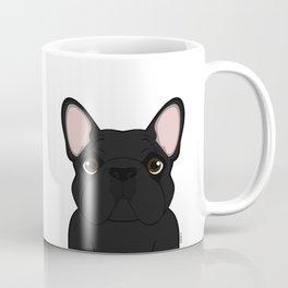 Frenchie - Black Brindle Coffee Mug