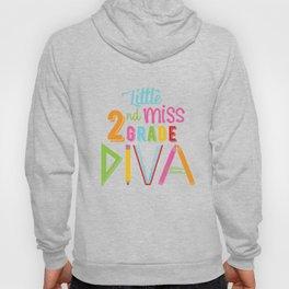 Little Miss 2nd Grade Diva Hoody