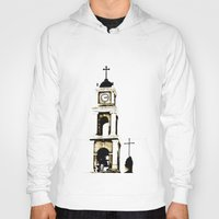 israel Hoodies featuring St. Peter's Church, Jaffa, Israel by Philippe Gerber