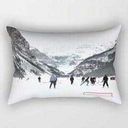 Winter in Lake Louise Rectangular Pillow