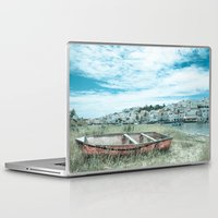 portugal Laptop & iPad Skins featuring Portugal by Sandy Broenimann