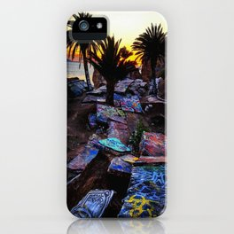 Ghetto by the Sea iPhone Case