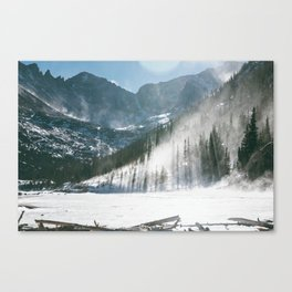 JEWEL LAKE 01 Canvas Print