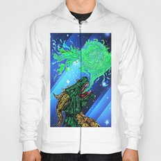 green dragon fire artist Hoody