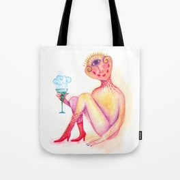 daemon who is much less speachless Tote Bag