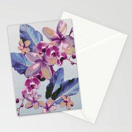 Tropical Vintage Plumerias Stationery Cards
