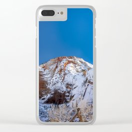 Zion Winter - 4536 Big_Bend_Viewpoint Clear iPhone Case