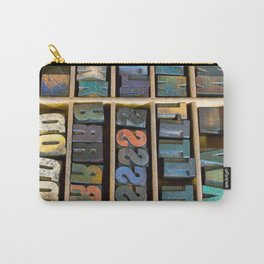 Wood Type II Carry-All Pouch