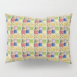 Nine Squares Showing Off Pillow Sham