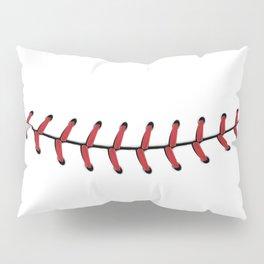 Baseball Lace Smile Pillow Sham