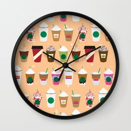 Morning Coffee Wall Clock